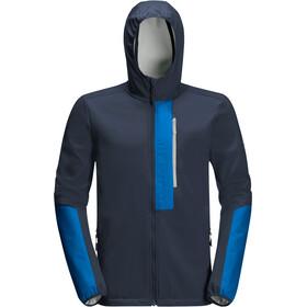 Jack Wolfskin 365 Racer Softshell Giacca ibrida Uomo, blu